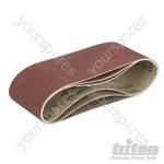 Sanding Belts for Triton Palm Belt Sander 3pk - TCMBS100G Sanding Belts 3pk 100G