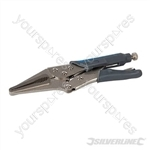 Self Locking Soft-Grip Long Nose Pliers - 230mm