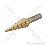 Titanium-Plated HSS Step Drill - 4 - 14mm