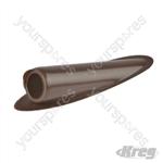 Plastic Plugs - Brown