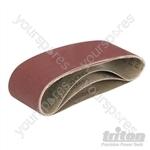 Sanding Belts for Triton Palm Belt Sander 3pk - TCMBS60G Sanding Belts 3pk 60G