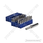 Security Bit Set 33pce - 25mm