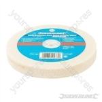 White Aluminium Oxide Bench Grinding Wheel - 150 x 20mm Medium