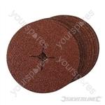 Fibre Discs 180 x 22.23mm 10pk - 24 Grit