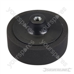 M14 Foam Polishing Head - 150mm Soft Black