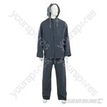 """Rain Suit Blue 2pce - XXL 79 - 138cm (31 - 54"""")"""