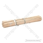 "Broom Handles - 4 x 15/16"" Dia 50pce"