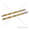 HSS Titanium-Coated Drill Bits 2pk - 5.0mm