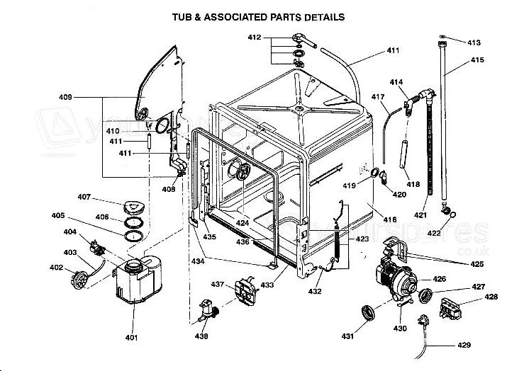 hotpoint dishwasher diagram free download  u2022 oasis