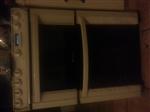 It's a hotpoint ew83 slot in cooker in sandstone.