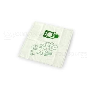 Numatic (George) 3 Layer Hepaflo Filter Vacuum Bags NVM-2BH - Pack of 10