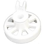 Dishwasher Lower Basket Rail Wheel Beko Blomberg Flavel