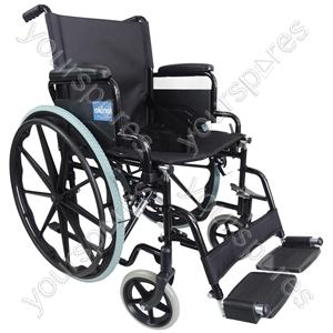 Aidapt Self Propelled Steel Transit Chair