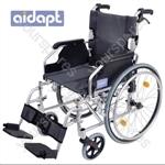 Aidapt Deluxe Lightweight Self Propelled Aluminium Wheelchair - Colour SILVER