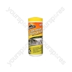 Caravan Awning and Tent Cleaning Wipes