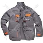 Texo Contrast Jacket - Charcoal - XX Large - XXL