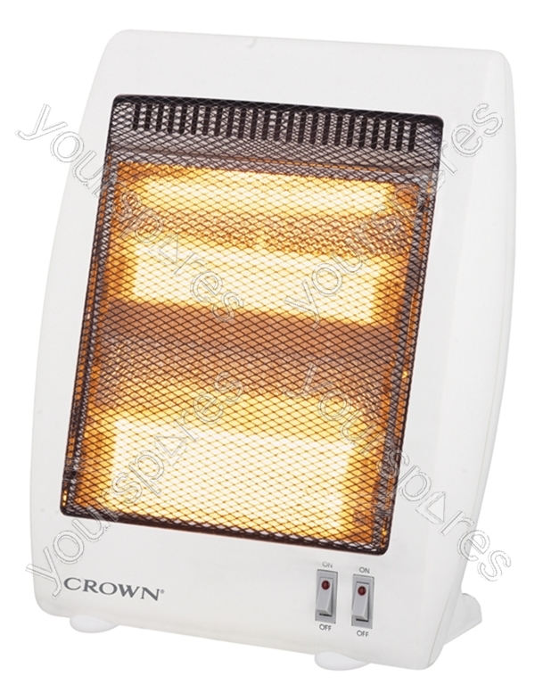 2 Bar Halogen Heater Crhha04 H By Crown