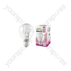 Golf Ball E27 28w 240v Halogen Incandescent Bulb