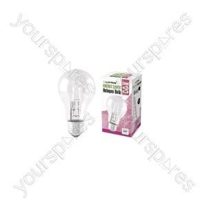 GLS E27 28w 240v Halogen Incandescent Bulb