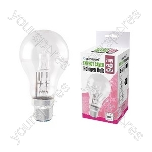 GLS B22 42w 240v Halogen Incandescent Bulb