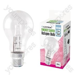 GLS B22 105w 240v Halogen Incandescent Bulb