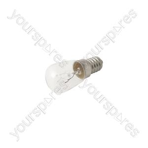 Fridge Bulb E14 15w 240v (Refrigerator Light) - 1pk