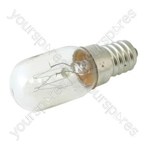 Oven Bulb E14 25w 240v High Temp (Oven Light) - 1pk