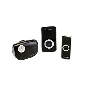 MiP 32 Melody Plug-in & Battery Operated Door Chime Pack - Black