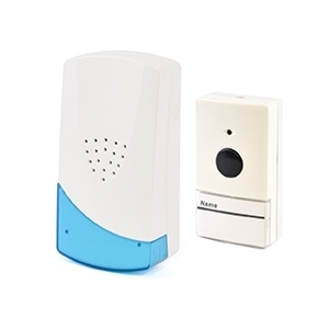 16 Melody Plug-in Wireless Door Chime - White