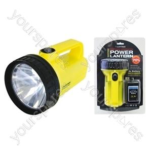Power Lantern with PJ996 Battery - Yellow