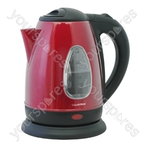 KitchenPerfected 1.7Ltr 3Kw 360 Cordless Kettle - Red Steel