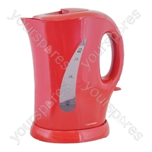 KitchenPerfected 2Kw 1.7Ltr Cordless Kettle - Red