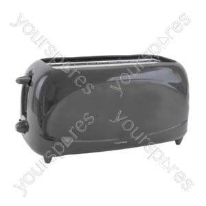 4 Slice 1200w Toaster - Black