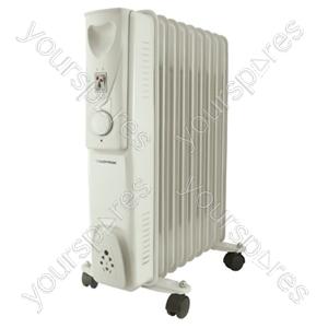 STAYWARM 2000w 9 Fin Oil Radiator - Grey