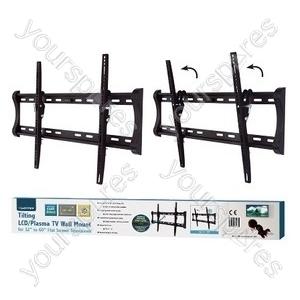 Tilting TV Wall Mount - Black (37-90'')