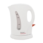 KitchenPerfected 1.1Kw 1.0Ltr Cordless Kettle - White