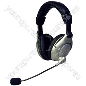 ScreenBeat Bass Vibration Headphones & Mic