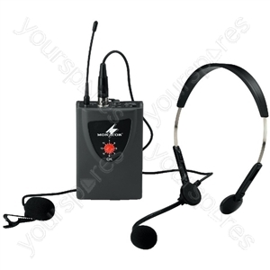 Microphone Transmitter - Multifrequency Pocket Transmitter