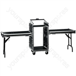 """Flight Case - Professional Case With Castors For 482mm (19"""") Devices"""