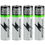 NIMH Accu Set AA - Nimh Rechargeable Batteries, Aasize, Set Of 4