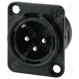 XLR Plug - Neutrik Xlr Panel Plug, 3poles