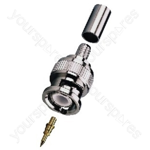 BNC Plug - Bnc Crimp Plugs, 50ω