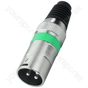 XLR Plug - Xlr Plugs, 3 Poles