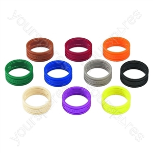 Coded Ring Set - Colour Coding Rings