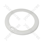 Electrolux 605648161 White Outer Door Trim