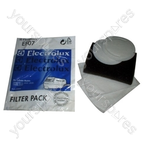 Electrolux Vacuum Cleaner Filter - Pack of 5 (EF07)