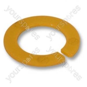Circlip Clnr Head Pivot Yellow