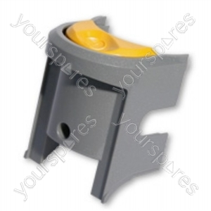 Switch Plate Grey Yellow