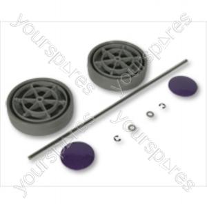 Dyson Assembly Kit  grey/Purple Vacuum Wheel