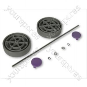 Dyson Assembly Kit Grey/lavender Vacuum Wheel